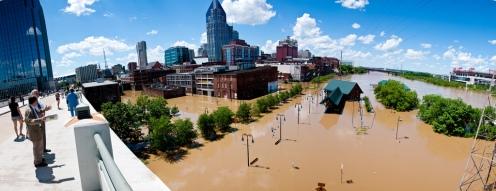 Downtown Nashville May 3, 2010