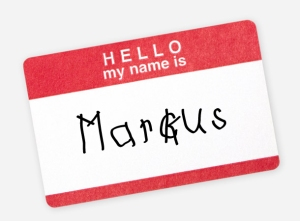 Hello, My Name is Marckus